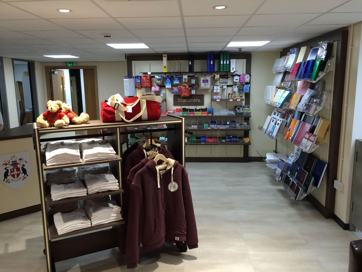Shopfitting by Millerbrown at Liverpool Hope University